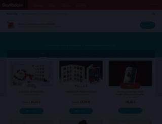cadeau.dromadaire.com screenshot