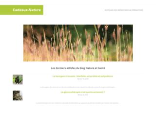 cadeaux-nature.fr screenshot