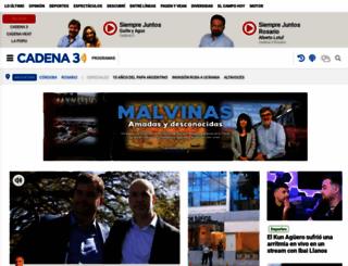 cadena3.com.ar screenshot