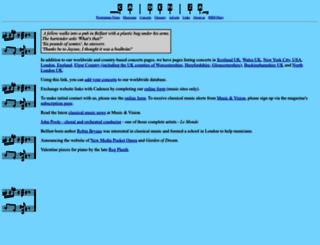 cadenza.org screenshot