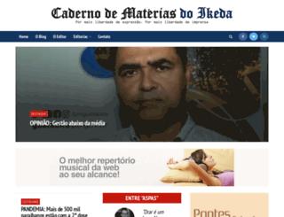 cadernodematerias.com screenshot