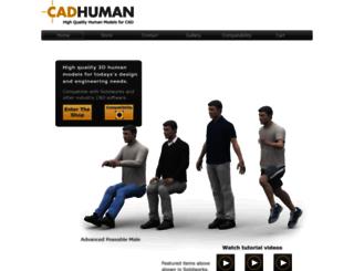 cadhuman.com screenshot