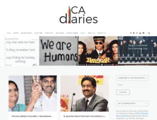 cadiaries.com screenshot