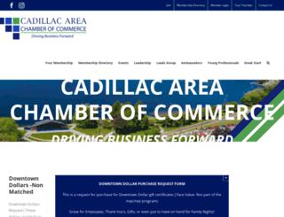 cadillac.org screenshot