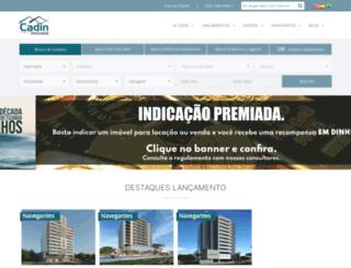 cadinimoveis.com.br screenshot