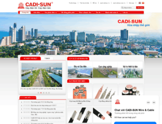 cadisun.com.vn screenshot