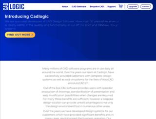 cadlogic.co.uk screenshot