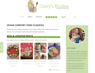 cadryskitchen.com screenshot
