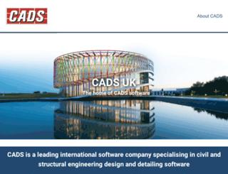 cadsglobal.com screenshot