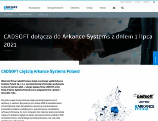 cadsoft.pl screenshot