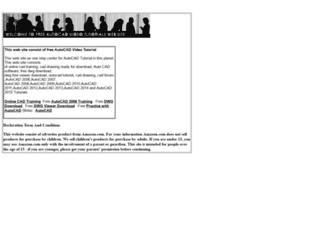 cadtutorial.org screenshot