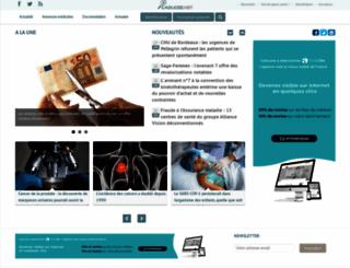 caducee.net screenshot