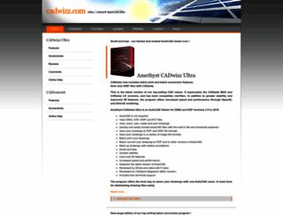 cadwizz.com screenshot