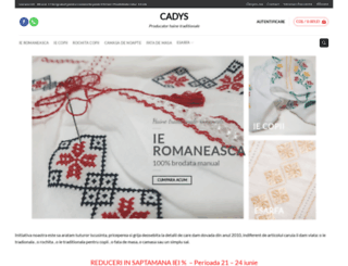 cadys.ro screenshot