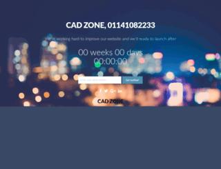 cadzone.org screenshot