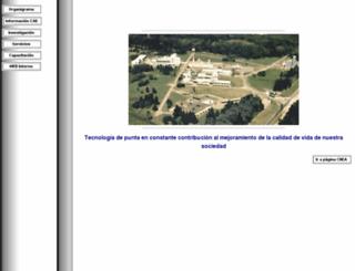 caebis.cnea.gov.ar screenshot