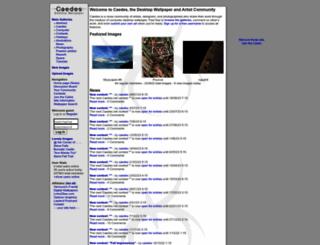 caedes.net screenshot