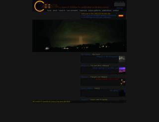 caelestia.be screenshot