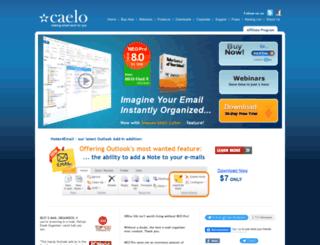 caelo.com screenshot