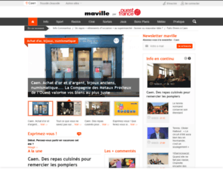 caen.maville.com screenshot