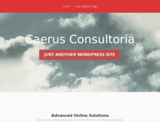 caerusconsultoria.com screenshot