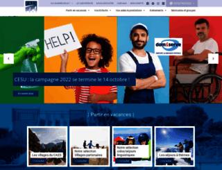 caes.cnrs.fr screenshot