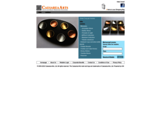 caesarea-arts.com screenshot