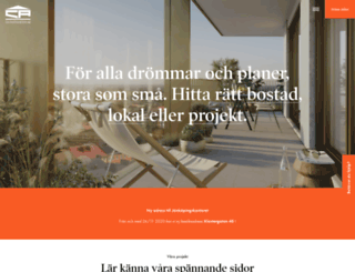 cafastigheter.se screenshot