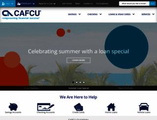 cafcu.org screenshot