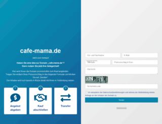 cafe-mama.de screenshot