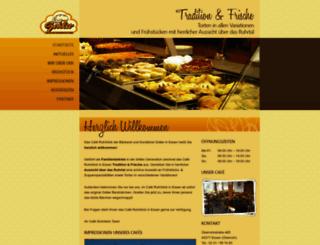 cafe-ruhrblick.de screenshot
