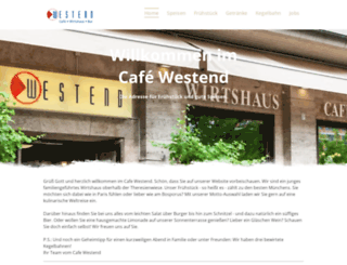 cafe-westend.com screenshot