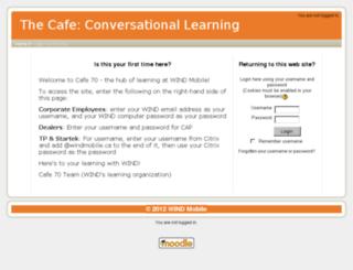 cafe70.windmobile.ca screenshot