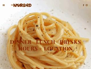 cafeamarcord.com screenshot