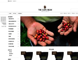 cafebean.co.kr screenshot