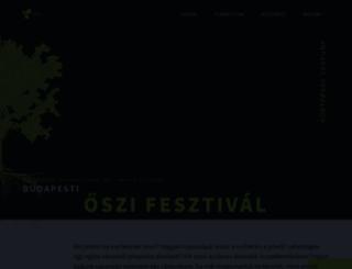 cafebudapestfest.hu screenshot