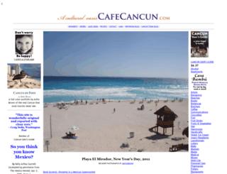 cafecancun.com screenshot
