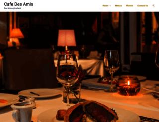 cafedesamispattaya.com screenshot