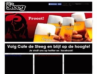 cafedesteeg.nl screenshot