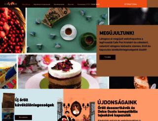 cafefrei.hu screenshot
