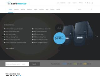 cafehoster.com screenshot