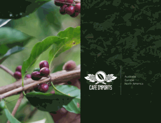 cafeimports.com screenshot