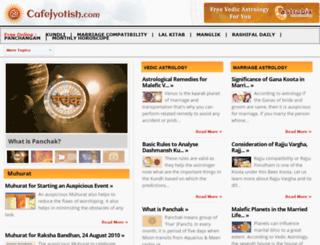 cafejyotish.com screenshot
