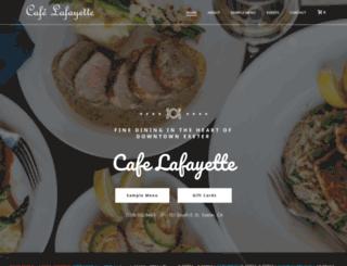 cafelafayette.com screenshot
