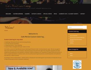 cafemerlot.com screenshot