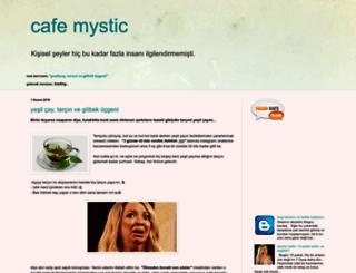 cafemystic.blogspot.com screenshot