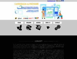 cafeneauadeinovare.ro screenshot