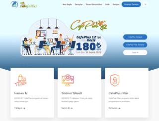 cafeplus.com.tr screenshot