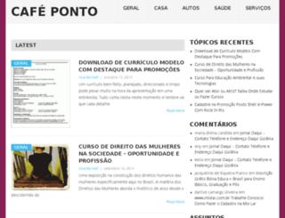 cafeponto.com screenshot