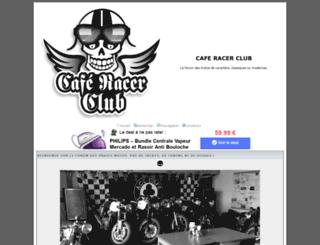 caferacerclub.org screenshot